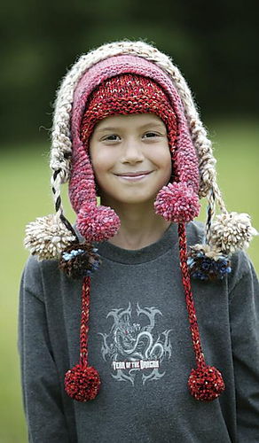 Knitting Patterns For Charity Free : Ravelry: #37 Earflap Hats pattern by Knitscene