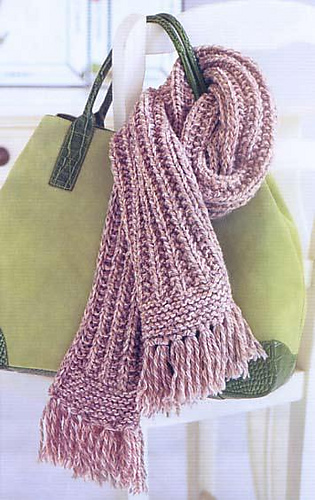 Ravelry: Texture Rib Scarf (Inca Scarf) pattern by Patons Australia