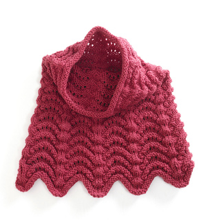 Hooded Cowl Knitting Pattern Ravelry : Ravelry: Knitted Cowl Hood pattern by Lion Brand Yarn