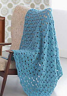 Patons Free Crochet Afghan Patterns : Ravelry: Light and Airy Afghan pattern by Patons