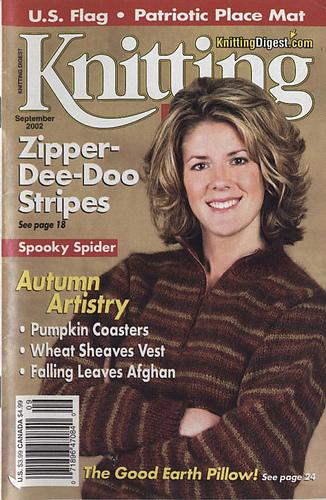 Ravelry: Knitting Digest Magazine, Vol. 24 No. 5, September 2002 - patterns