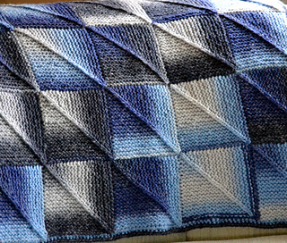 Ravelry: Michelles Mitered Squares Blanket pattern by ...