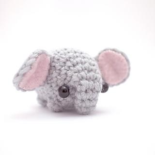 Ravelry: mini elephant amigurumi pattern by mohu