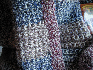 Crochet Afghan Pattern Homespun Yarn : Ravelry: Rawhide Afghan pattern by Lion Brand Yarn