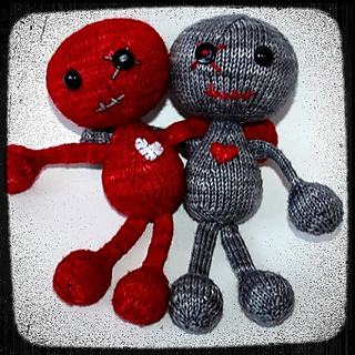 Knitting Pattern Voodoo Doll : Ravelry: Voodoo you love me? pattern by Susan Claudino