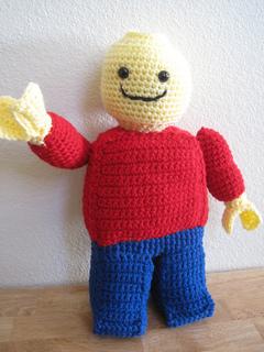 Amigurumi Lego Man : Ravelry: Lego Minifigure pattern by Trish Hicks