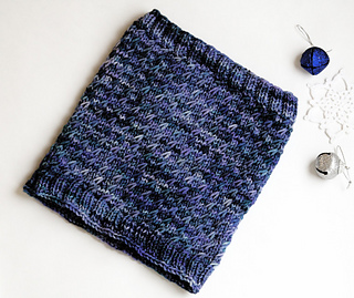 Authentic Knitting Board Patterns : Ravelry: Bluebird Cowl pattern by Authentic Knitting Board