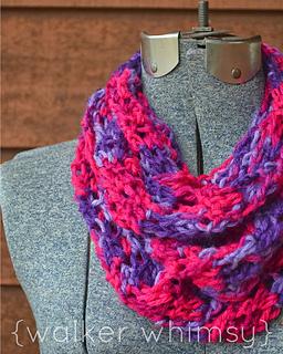 Ravelry: Crochet Infinity Scarf pattern by Caitlin Walker