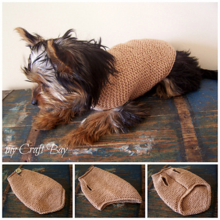 Knitted Dog Sweater Patterns Free : Ravelry: Cute Dog Sweater pattern by Kristina Kavaliauskiene