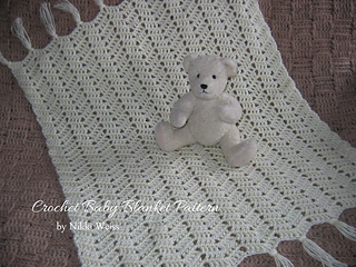 Ravelry: Simply Soft Crochet Car Seat Baby Blanket pattern by Nikki Weiss