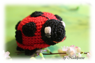ravelry felix the lady bug marienk fer spielzeug pattern by petra kirchmer. Black Bedroom Furniture Sets. Home Design Ideas