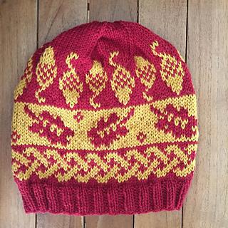 Acorn Leaf Knitting Pattern : Ravelry: Little Acorns: Acorn & Oak Leaf Hat pattern by Erssie