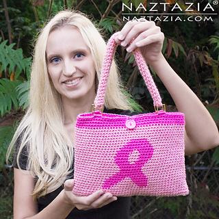 Diy-tutorial-free-pattern-pink-awareness-ribbon-breast-cancer-tapestry-crochet-handbag-bolsa-purse-bag_small2