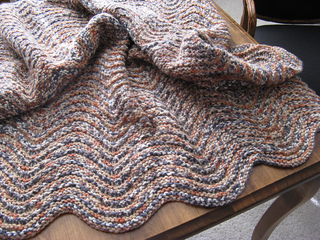 Ravelry Holeless Feather And Fan Blanket Pattern By Kayl
