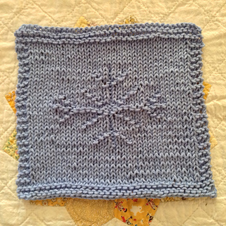 Ravelry Snowflake Dishcloth Pattern By Monnibo Designs