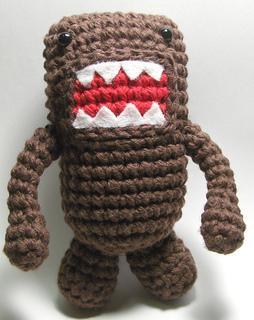 Amigurumi Joined Rounds : Ravelry: Little Domo-Kun Amigurumi Crochet Doll (worked in ...