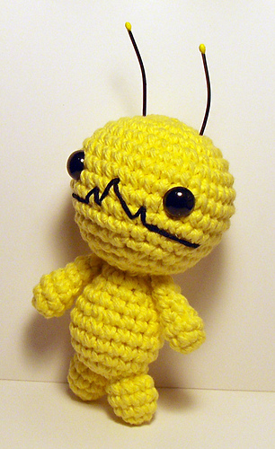 Amigurumi Chibi Doll Pattern Free : Ravelry: Alien Hominid, Chibi Kawaii Cat, Bunny and Bear ...