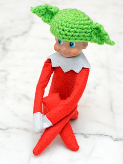 Ravelry Elf On A Shelf Character Hats Pattern By Erin