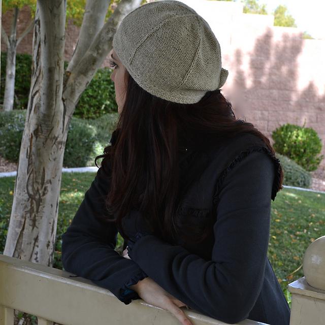 """针织:""""钟形""""帽子 - maomao - 我随心动"""