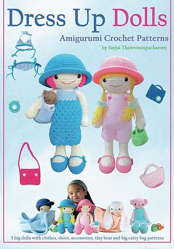 Ravelry: Evie and Lilly Dress up Dolls pattern by Sayjai ...
