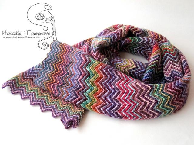 针织围巾 - maomao - 我随心动