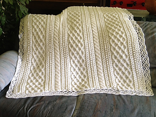 Ravelry: Leisure Arts #2243, Aran Baby Afghans to Crochet - patterns