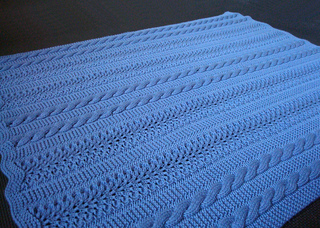 Free Knitting Patterns Baby Blankets Hearts : Ravelry: Heavenly Baby Blanket pattern by Joyce Nordstrom