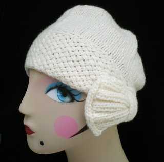 Knitting Patterns For Small Hats : Ravelry: Flapper Cloche Hat pattern by Ohmay Designs