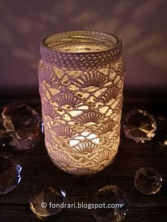 Ravelry: Jar Cover #2 pattern by ol?f Lilja Ey?orsdottir