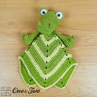 Ravelry: Crocodile Lovey pattern by Carolina Guzman