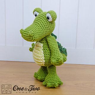 Amigurumi Crochet In The Round : Ravelry: Crocodile Amigurumi pattern by Carolina Guzman