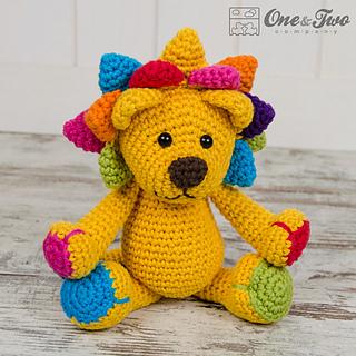 Amigurumi Crochet In The Round : Ravelry: Logan the Lion Amigurumi pattern by Carolina Guzman