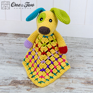 Ravelry: Scrappy Puppy lovey pattern by Carolina Guzman