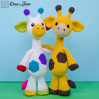 Ravelry: Geri the Giraffe Amigurumi pattern by Carolina Guzman