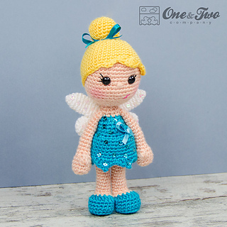 Amigurumi Fairy Free Pattern : Ravelry: Ella the Fairy Amigurumi pattern by Carolina Guzman