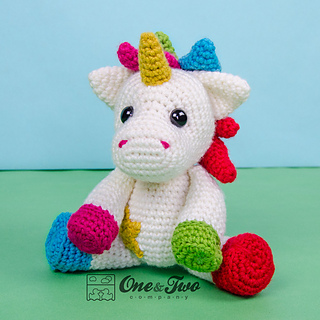 Unicorn Amigurumi Yarn Yard : Ravelry: Nuru the Unicorn Amigurumi pattern by Carolina Guzman