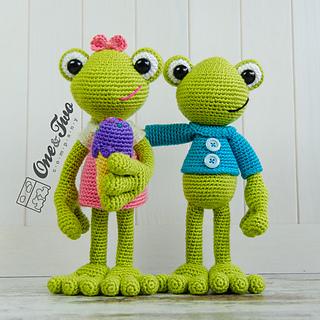 Amigurumi Crochet In The Round : Ravelry: Kelly the Frog Amigurumi pattern by Carolina Guzman