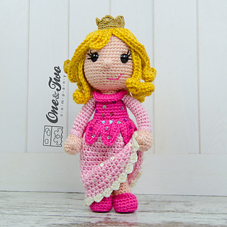 Ravelry: Princess Rose Amigurumi pattern by Carolina Guzman