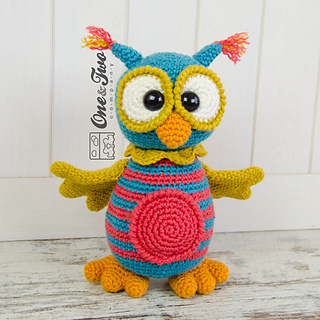 Amigurumi Owl Family : Ravelry: Quinn the Owl Amigurumi pattern by Carolina Guzman