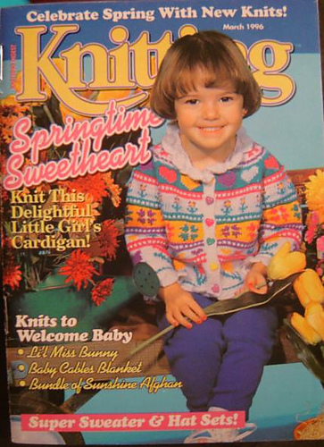 Ravelry: Knitting Digest Magazine, Vol. 18 No. 2, March 1996 - patterns
