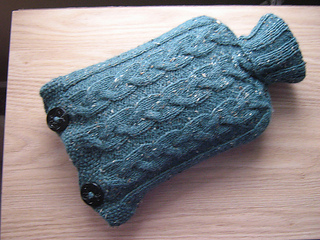 Knitting Pattern For Hot Water Bottle Cozy : Ravelry: Seamless Hot Water Bottle Cozy pattern by ...