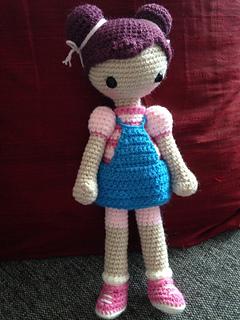 Ravelry: Cookie, the Amigurumi Girl pattern by Serah Basnet