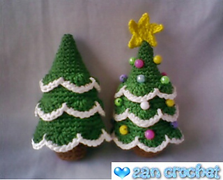ravelry amigurumi christmas tree pattern by zan merry. Black Bedroom Furniture Sets. Home Design Ideas