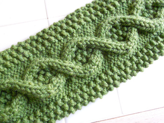 Ravelry: Learn To Cable Scarf pattern by Shiri Mor