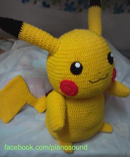 Amigurumi Pikachu Free Pattern : Ravelry: Amigurumi Pikachu pattern by Noramon Dron