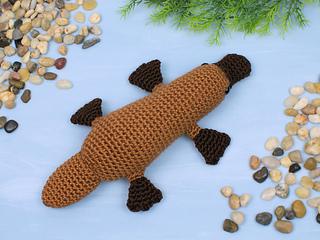 Free Crochet Patterns Australian Animals : Ravelry: Platypus pattern by June Gilbank