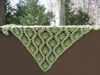 Shawl_-_tescellatingpinecones-honeydew-030712_small2