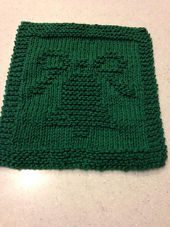 Knitting Pattern Christmas Bells : Ravelry: poshlynnes Christmas Bell Dishcloth