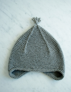 Knitting Pattern For Infant Hat With Ear Flaps : Ravelry: Garter Ear Flap Hat pattern by Purl Soho