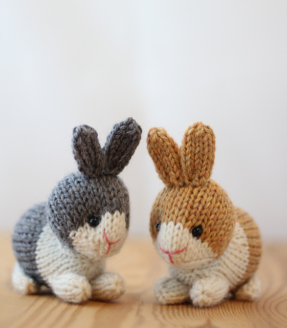 Knitting Small Animals : Blij dat ik brei februari